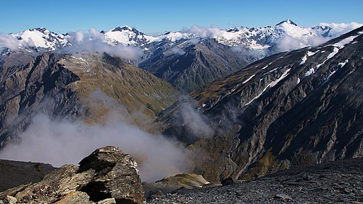 Mount Aspiring National Park, South Island, New Zealand-6Feb2012