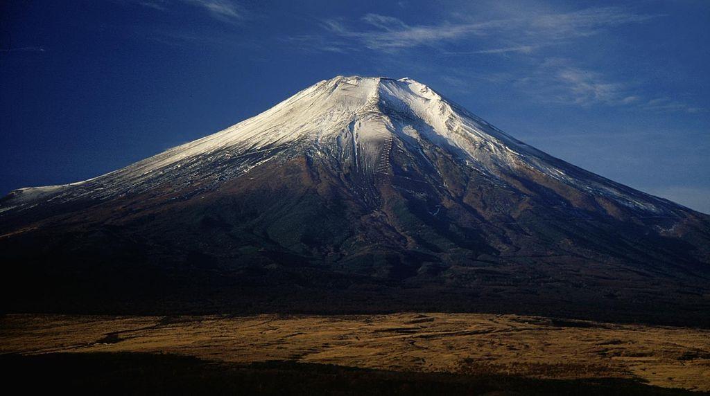 Mount Fuji from Hotel Mt Fuji 1994-11-29