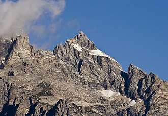 Mount Owen (Wyoming) - The summit region of Mount Owen