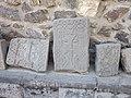 Mughni Saint Gevorg Monastery (khachkar) 22.jpg