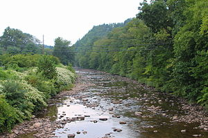 Muncy Creek - Muncy Creek looking upstream in Picture Rocks