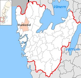Munkedal Municipality Municipality in Västra Götaland County, Sweden