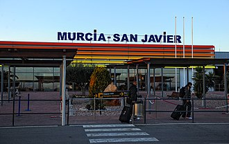 Murcia–San Javier Airport - Image: Murcia San Javier Airport 2013 panoramio