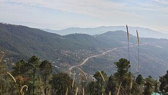 1947 Poonch rebellion - Murree, overlooking Kashmir
