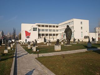 Museum of Socialist Art Museum in Sofia, Bulgaria