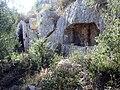 Mycenaean grave in Acropolis of Steirida.jpg