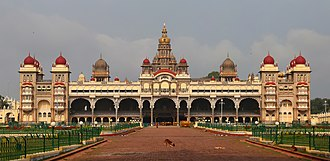 Kingdom of Mysore - Mysore Palace built between 1897 and 1912