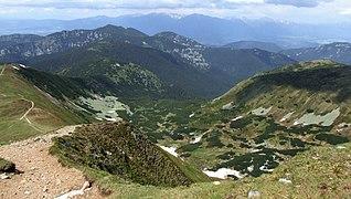 Nízke Tatry - view from Krúpova hoľa