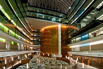 National Geospatial-Intelligence Agency - Image: NGA New HQ atrium