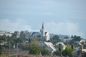 Riebeek-Kasteel - View of the Dutch Reformed Church (built circa 1914)