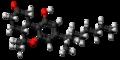Nabilone molecule ball.png