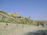 Nakhchivan fortress walls2.JPG