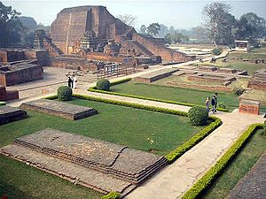 Buddhist philosophy - The Buddhist Nalanda university and monastery was a major center of learning in India from the 5th century AD to c. 1200