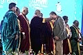 Narendra Modi felicitating the awardees at the inauguration ceremony of the 103rd Session of Indian Science Congress, in Mysuru. The Governor of Karnataka, Shri Vajubhai Rudabhai Vala and other dignitaries are also seen (2).jpg