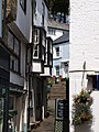 Narrow, stepped street, Fowey - geograph.org.uk - 1464491.jpg