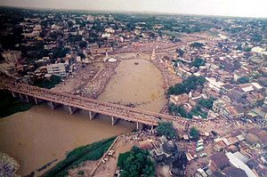 Nashik - The 1989 Kumbh Mela at Nashik.
