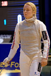 Natalia Sheppard British fencer