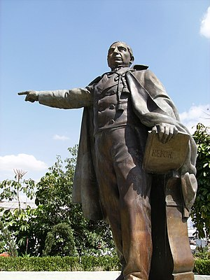 Demographics of Mexico - Benito Juárez was the first President of Indigenous descent in Mexico