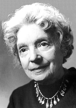 Nelly Sachs in 1966
