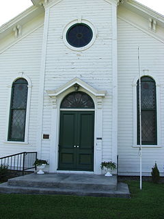Nelson Welsh Congregational Church United States historic place