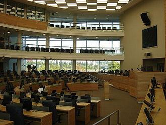 Seimas Palace - Image: New Lithuanian Parliament Hall 2