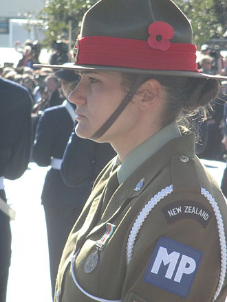 Campaign hat - Modern campaign hat worn by the New Zealand Army