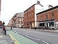 New cycle lane on Wellington Street (6) (geograph 6144232).jpg