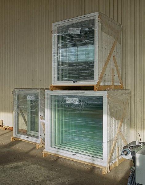 File:New windows in stretch wrap.jpg