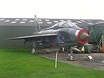 Newark Air Museum, Lightning T.5 (4229120358).jpg