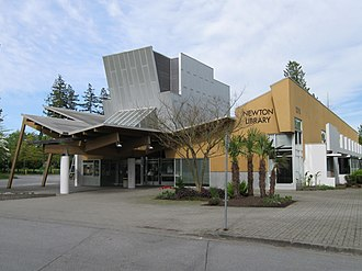 Surrey Libraries - The award-winning Newton Library was officially opened on May 2, 1992