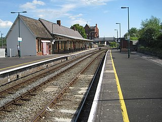 Newtown railway station (Wales)