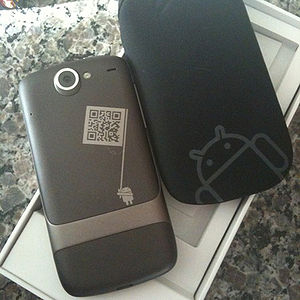 A Pic of the Google/HTC Nexus One Back Cover a...