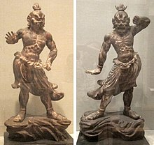 Ni-o (pair of temple guardians), Japan, Kamakura period, 13th-early 14th century, HAA.jpg