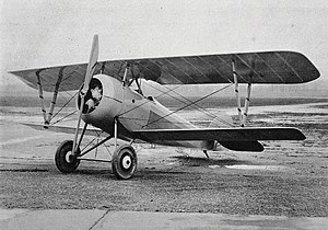 Nieuport 27 - Nieuport 27 serving with the U.S. forces as an advanced trainer in 1918
