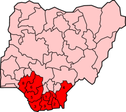 Conflict in the Niger Delta - Wikipedia
