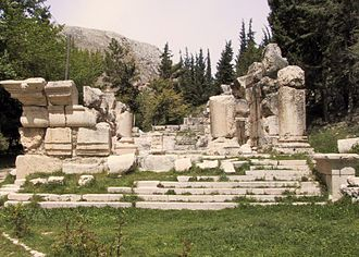 Temples of Mount Hermon - Small lower temple at Niha, Lebanon