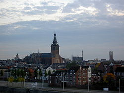 A view over Nijmegen