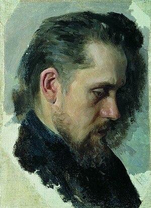 Nikolai Pomyalovsky - Pomyalovsky by Nevrev 1860