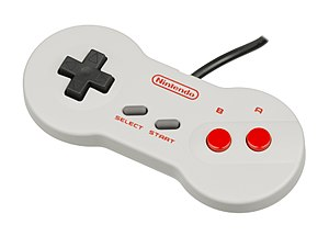 Nintendo Entertainment System (Model NES-101) - Redesigned controller
