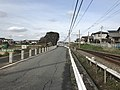 Nishitetsu Kaizuka Line near Oishigaura Park.jpg