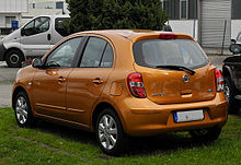 nissan micra wikipedia. Black Bedroom Furniture Sets. Home Design Ideas
