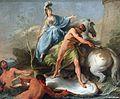 Noel Halle, Спор Афины и Посейдона, 1748.jpg