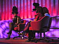 Nona Hendryx being interviewed 02.jpg