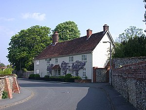 Ickleton - Norman Hall, a 15th-century house with 16th-century and later alterations, became the seat of Brays manor until 1867