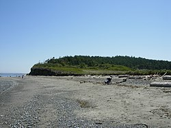 The North Beach At Fort Worden