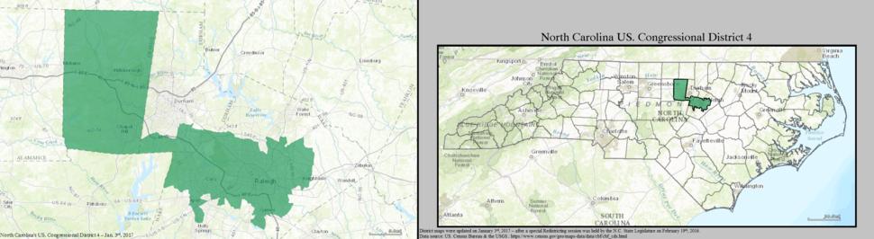 North Carolina US Congressional District 4 (since 2017)