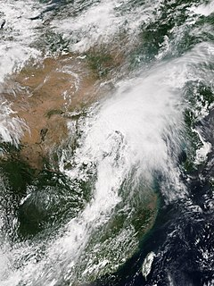 July 2016 North China cyclone