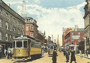 Secret Court of 1920 - North Main Street, Fall River, MA, circa 1910