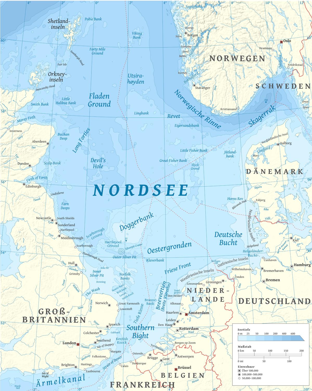 Die nordsee deutschland