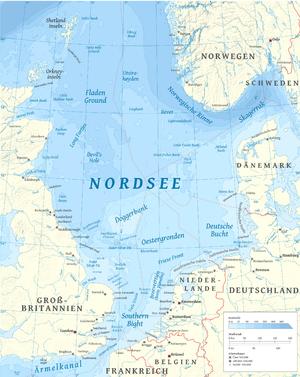 anglia térkép tenger Északi tenger – Wikipédia anglia térkép tenger